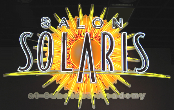 Salon Solaris, Fort Myers, FL by Lee Designs Neon Sign