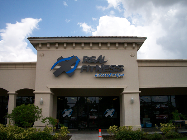 Real Fitness A Cross Fit Gym, Naples, FL by Lee Designs