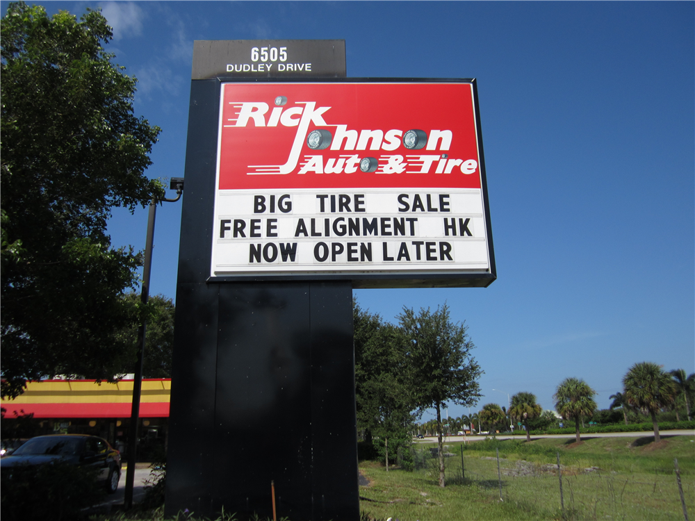 Rick Johnson Auto & Tire, Naples, FL by Lee Designs