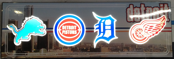 Detroit Sign by Lee Designs