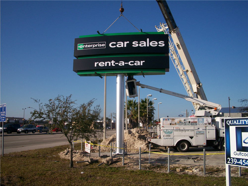 Enterprise Rent-A-Car, Fort Myers, FL by Lee Designs Installation