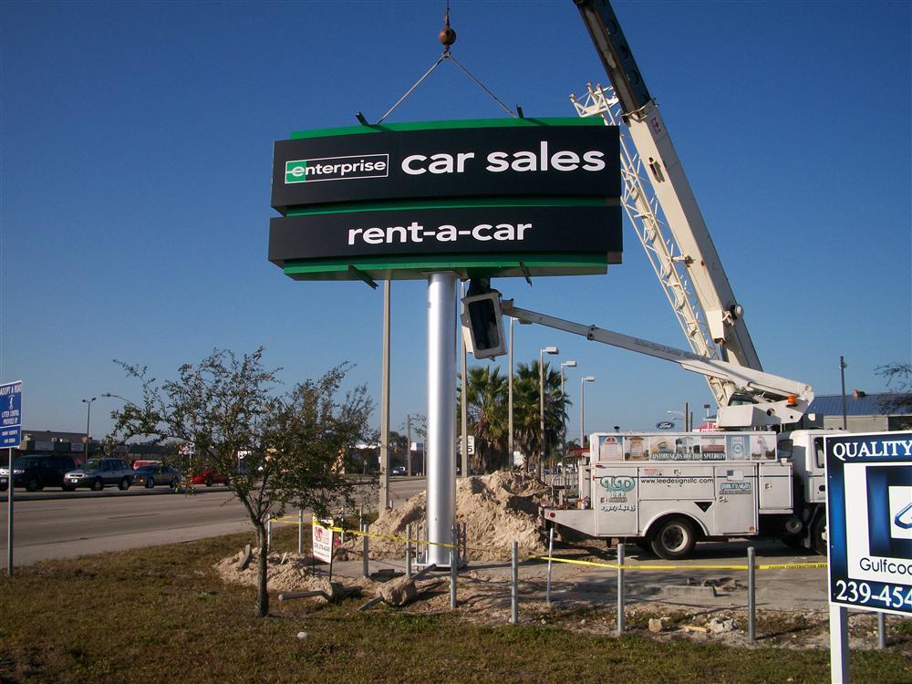 Enterprise Rent-A-Car, Fort Myers, FL by Lee Designs Installation