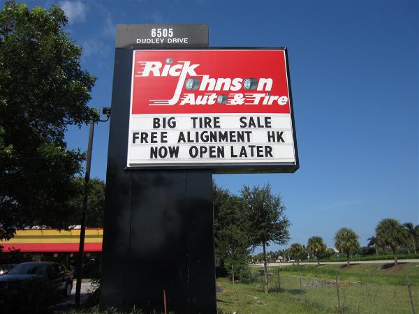 Rick Johnson Auto & Tire, Naples, FL by Lee Designs