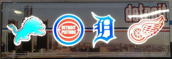 Detroit Sign by Lee Designs